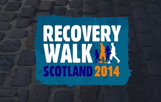 recovery walk 2014 edinburgh